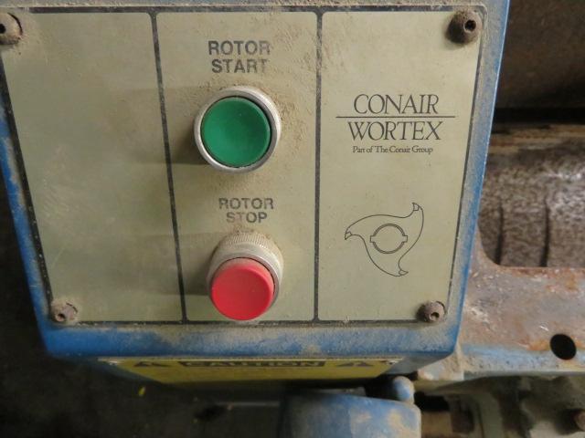 "Conair Used LP-1016 Granulator, 15.5"" x 18.5"", 5hp, 460V, Yr. 1997"