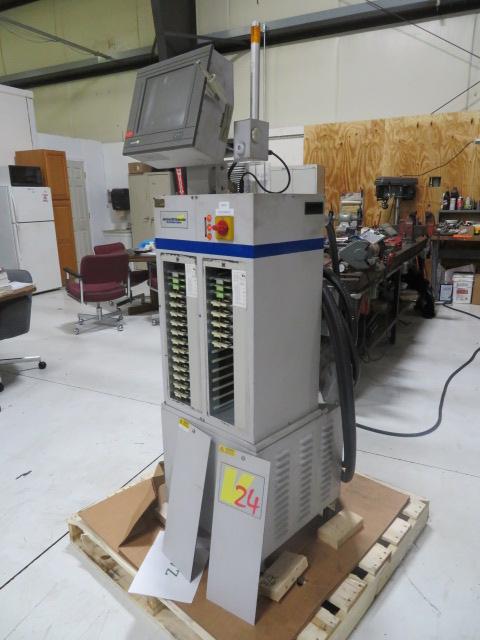 American MSI Used V24T-ORN-12 Hot Runner Controller, 12 zones, 460V
