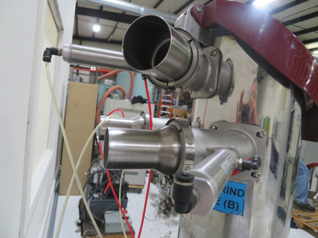 Wittmann Feedmax B210 Dual Material Used Vacuum Receiver, Approx 0.5 cu ft, 24V