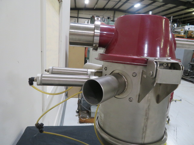 Wittmann Feedmax 206PT Dual Material Used Vacuum Receiver, 24V