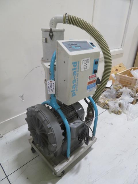 Matsui JL4-8VC2-OM Used Resin Vacuum Pump, 208V, Yr. 2008