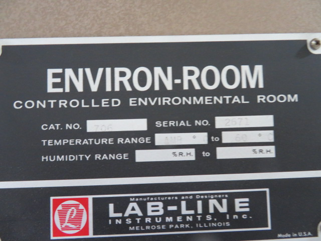 Labline Environ-Room 706 Used Lab Oven