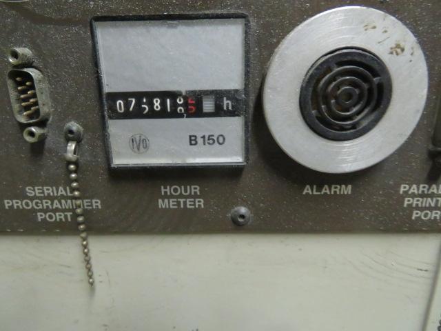 Cincinnati MH400-21 Used Injection Molding Machine, 400 US ton, Yr. 1997, 21 oz.