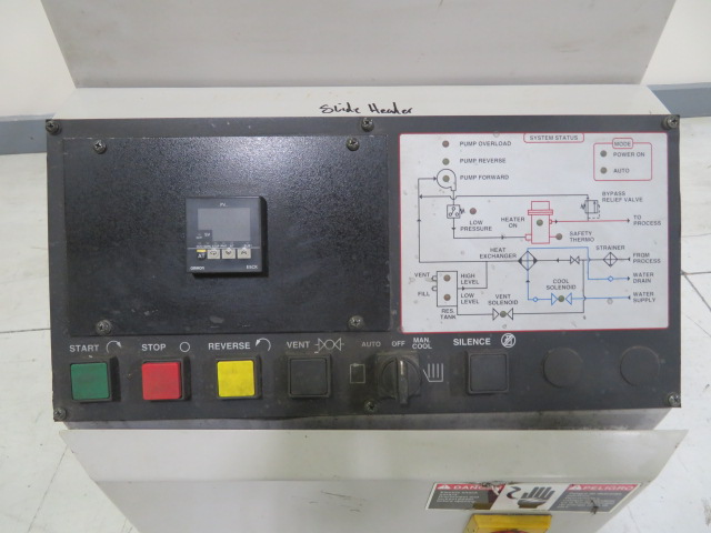 AEC TC01 Used Hot Oil Temperature Controller, 1hp, 12kw, 230V