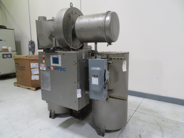 Novatec NDB-500 Used Material Dryer and Drying Hopper, Desiccant, Yr. 2010, 460V