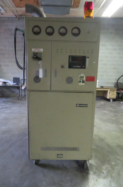 Matsui DMZ500 Used Material Dryer, Desiccant, Approx 500 lb/hr