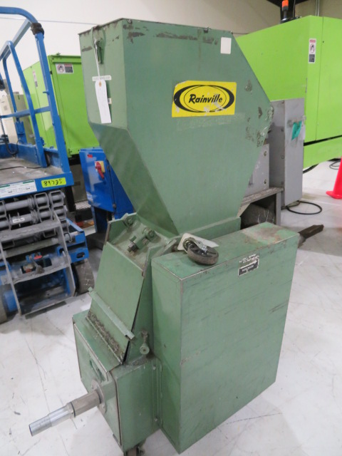 "Rainville MN1011 Used Portable Grinder, 10"" x 11"", 5hp, 230V"