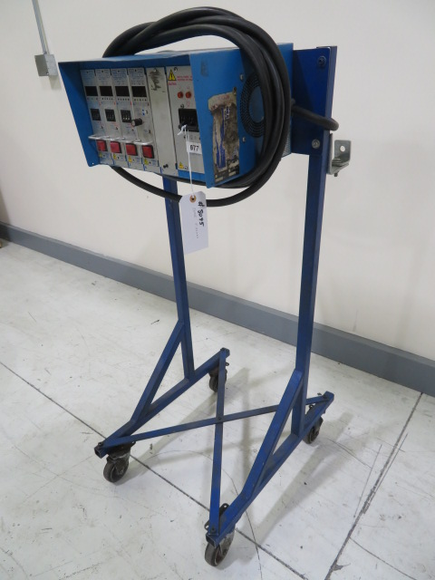 DME  Used Mold Heat Controller, 5 zones, 240V