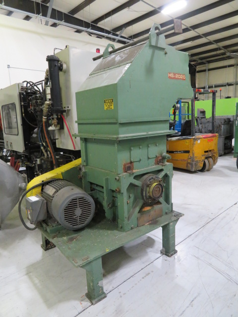 "Siemens Used HS 2020 Granulator, 17"" x 22"", 30hp, 460V"