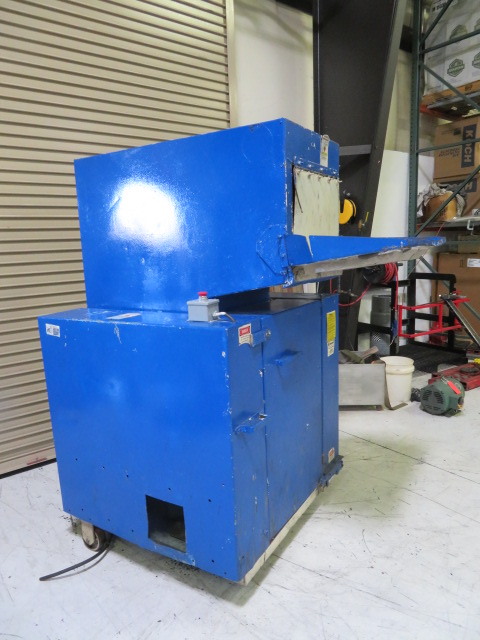 "Rapid 1418-K Used Granulator, 14"" x 18"", 25hp, 460V, Yr. 1995"
