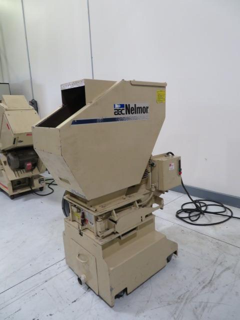 "AEC Nelmor Used G1012FX Granulator, 12"" x 12"", 7.5hp, 460V"