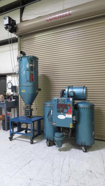 Una-Dyn Used DHD-6SB W/II-X Material Dryer, Desiccant, Approx 150 lb/hr