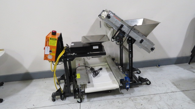 EMI Used ATLC 18-3-20 Weigh Hopper System with Inclined and Horizontal Conveyors, Yr. 2016, 110V