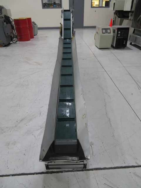 "Crizaf Used Conveyor, Horizontal to Incline, 131"" x 42"" x 8"" wide, 115V"