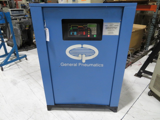 General Pneumatics Used TKF400A Air Dryer, 2hp, 460V