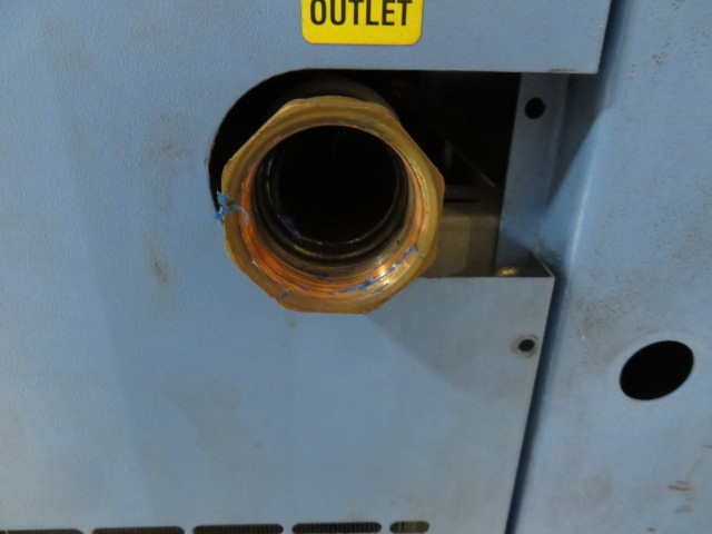 General Pneumatics Used TKF400A Air Dryer, 2hp, 460V
