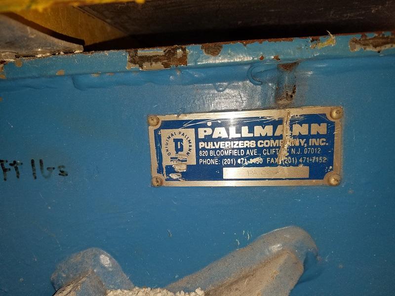"Pallman Used PSP 400-500 Sheet Granulator , 6""x 17.75"", 60hp, 460V, Yr. 1991"