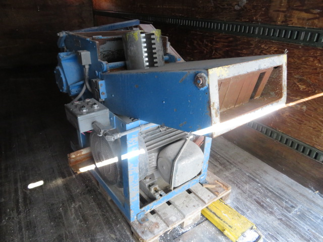 "Pallman Used PSP 400-500 Sheet Granulator , 6""x 16"", 60hp, 460V, Yr. 1991"