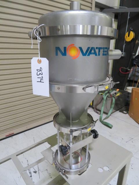"Novatec Used VR-5 Vacuum Receiver, 1.1 liters, 1 1/2 "" Supply"