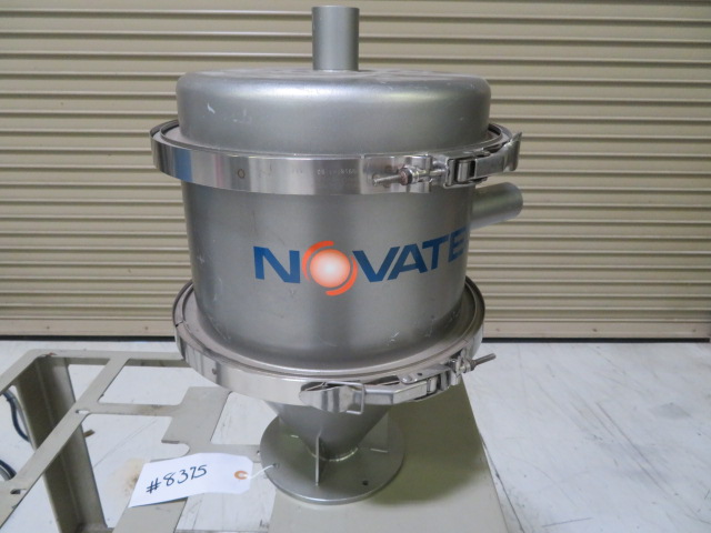 "Novatec Used VR-5 Vacuum Receiver, 1.1 Liters, 1 1/2"" Supply"