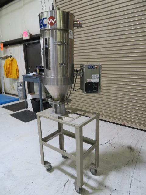 AEC Like New ACD-10 Compressed Air Dryer, 10CFM, 60 lb Capacity Hopper, Approx. 10 lb/hr