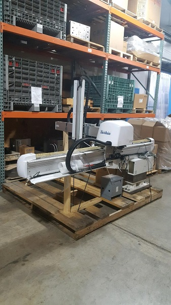 Yushin Used ATAII-300SLL Hybrid Robot, 300 ton, Yr. 2004