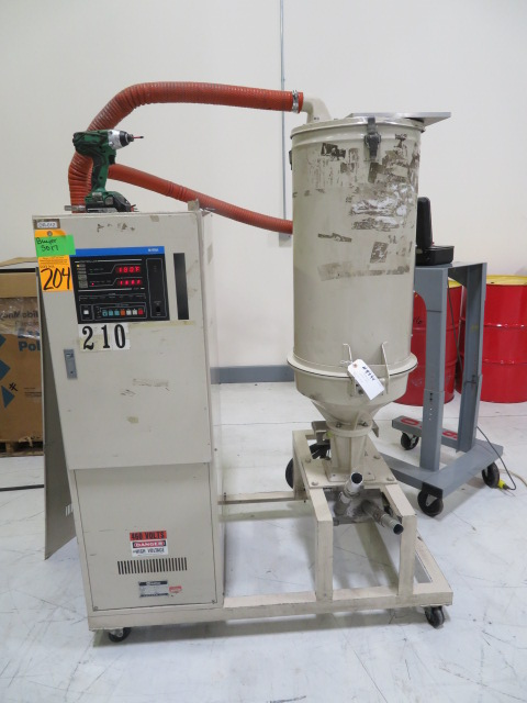 Matsui DMZ-80-50 Used Dehumidifying Dryer, Approx. 55lb/hr, Yr. 1993, 460V