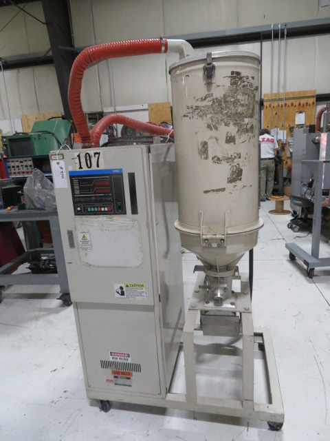 Matsui DMZ-80-50 Used Dehumidifying Dryer, Approx 55lb/hr, Yr. 1996, 460V