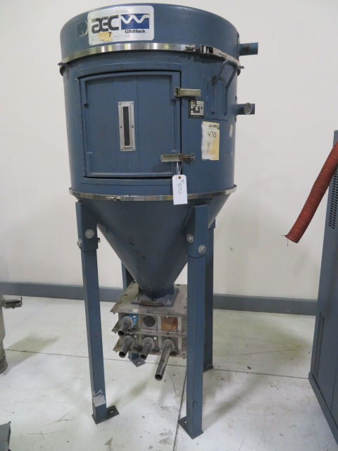 AEC Whitlock DH-12-OFI Used Drying Insulated Hopper, 420 lbs., Yr. 1993