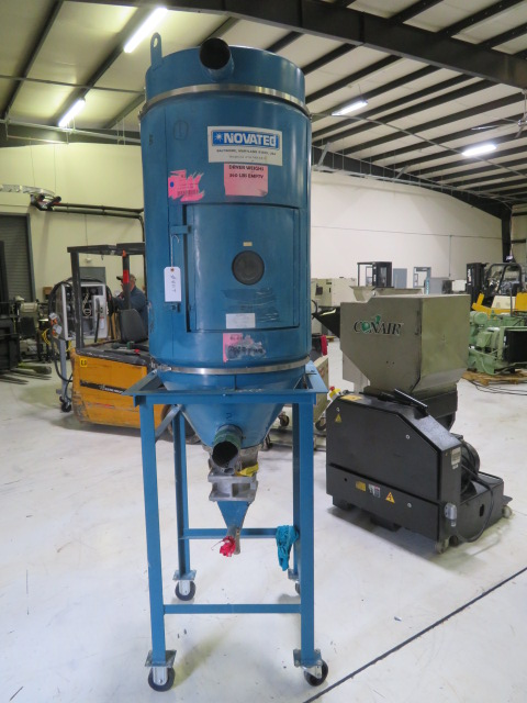 Novatec Used Drying Hopper, 400 lbs., Yr. 2001