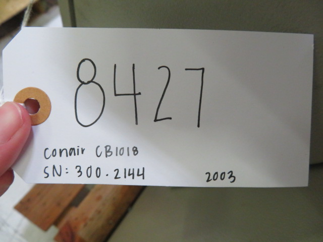 "Conair CB-1018 Used Granulator,  10"" x 18"", 15hp, 460V, Yr. 2003"
