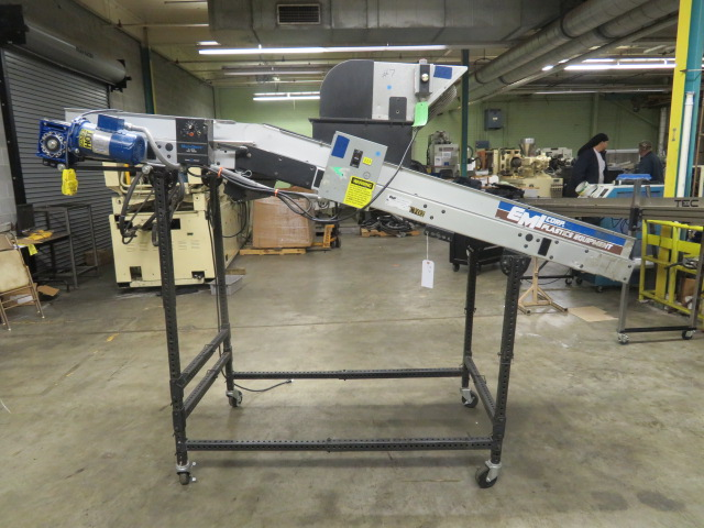 "EMI Used Horizontal Variable Speed Conveyor, 24"" wide, ADF-24-8-20, 115V"