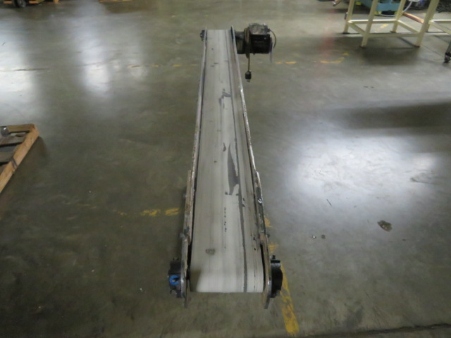 "PPE Used Horizontal Conveyor, 6"" x 71"" Belt Conveyor"