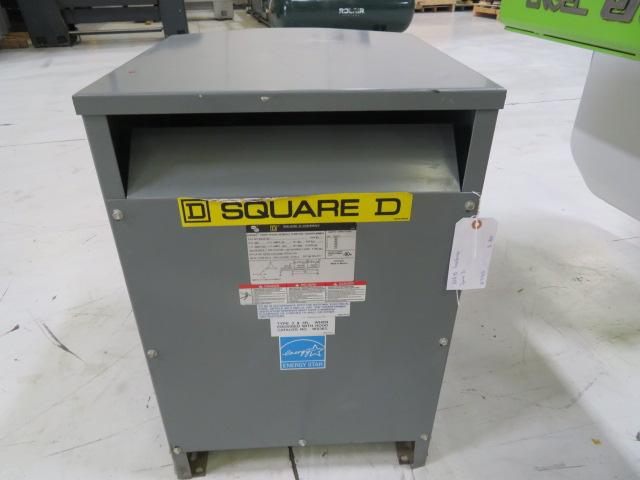 Square D KVA 45 Used Transformer, Yr. 2011, 480V