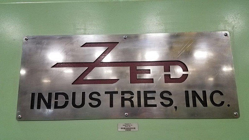 ZED HG Style 54217 8004 Used Thermoformer, Yr. 460V