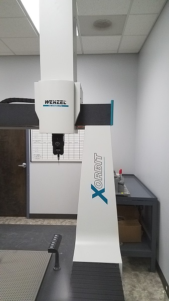 Wenzel Used Xorbit XO 87 CMM Coordinate Measurement Machine, Yr. 2014