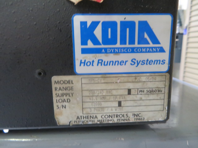 Kona IMP15 Used Hot Runner Temperature Controllers, 4 zone, 220V