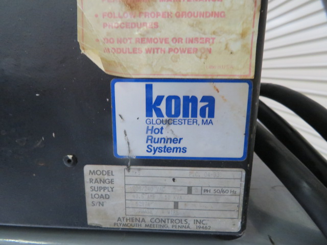 Kona IMP15 Used Hot Runner Temperature Controllers, 5 zone, 220V