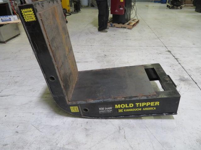 Kawaguchi KM 5000 Used Mold Tipper / Flipper, 5,000 lb capacity