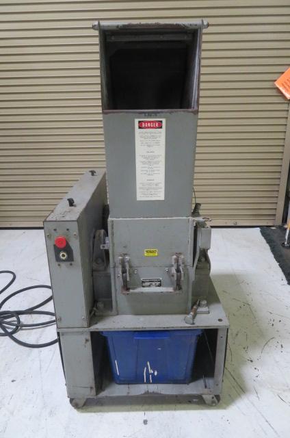 """Polymer Systems Used 912 SPL Granulator, 9"""" x 12"""", 7.5hp, 460V, Yr. 1998"""