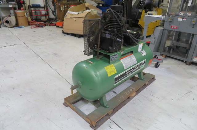 Speedaire Used 5hp Compressor, 175psi, 460V, Yr. 1997