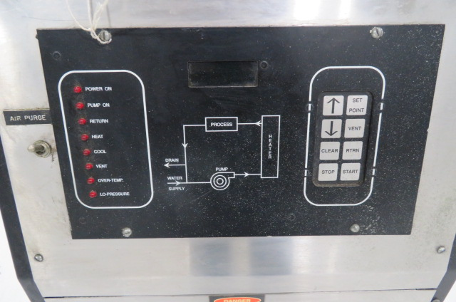 Quality Process Control Systems Used DS-1110X Mold Temperature Controller, 1hp, 12kw, 480V