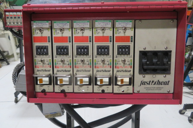 Fast Heat Used KS010002WS Hot Runner Controller, Yr. 1998, 5 zone, 240V
