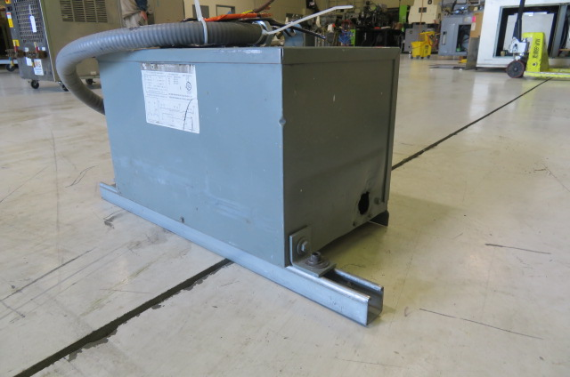 Square D Used Cat. No. 9T2F ST Insulated Transformer, 9KVA 480 Delta High, 208 Low