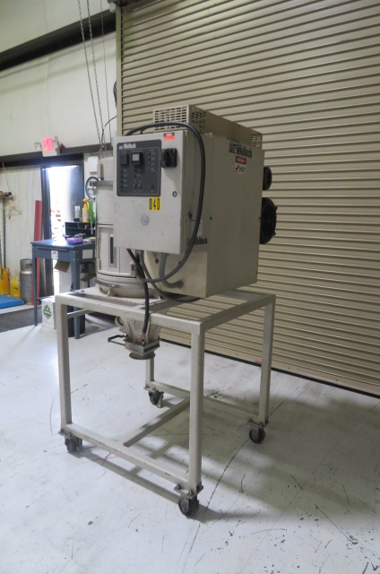 AEC Used WD-50MR Material Dryer, Desiccant, 460V, Approx 50 lb/hr, Yr. 2010
