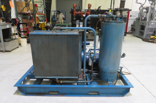 HP Quincy Used Q235 Air Cooled Compressor, 50hp, 460V