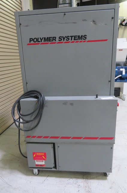 "Polymer Systems Used 912 SIL Granulator, 12"" x 9"", 7.5 hp, 460V"