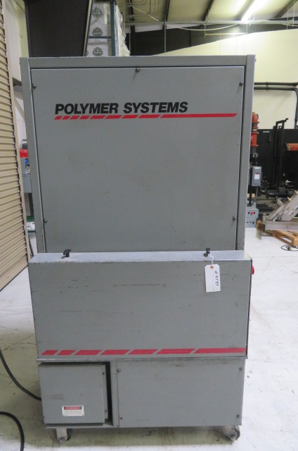 "Polymer Systems Used 68 SIL Granulator, 7.5"" x 6"", 5hp, 460V"