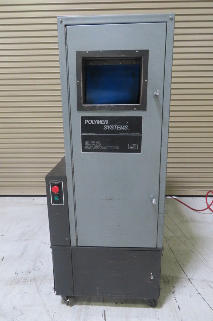 "Polymer Systems Used 68 SIL Granulator, 8""x 6"" with robot feed chute, 5hp, 460V"