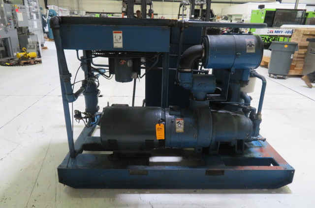 HP Quincy Used QSI-245 Air Cooled Compressor, 50hp, 480V